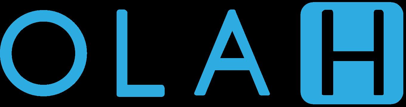blue olah logo